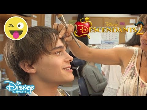 Descendants 2  Get Ready With Mitchell Hope   Disney Channel UK