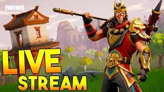 LIVESTREAM #496 FORTNITE! SEASON 3 STARTS TOMORROW! #GIVEAWAY