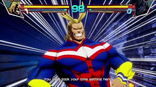 All Might Confronts All For One | My hero One