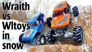 RC Trucks OFF Road 4x4 | Axial Wraith VS WLtoys Wild Track | RC Extreme Pictures(More interesting videos http://www.youtube.com/user/wilimovich Click to Subscribe! ▻http://goo.gl/F70PoV - In this part of RC Extreme Pictures you`ll see a snow ..., 2017-01-31T11:50:18.000Z)