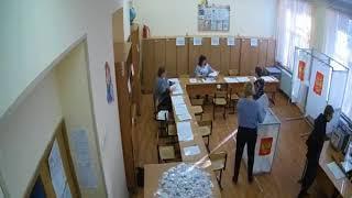Вброс бюллетеней, выборы 18 марта 2018, Люберцы