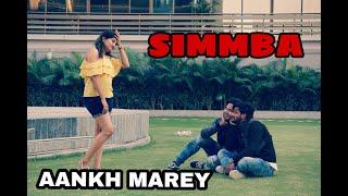 #aankh marey dance#simmba SIMMBA-Aankh Marey Dance Video Choreographer Sonu Agarwal