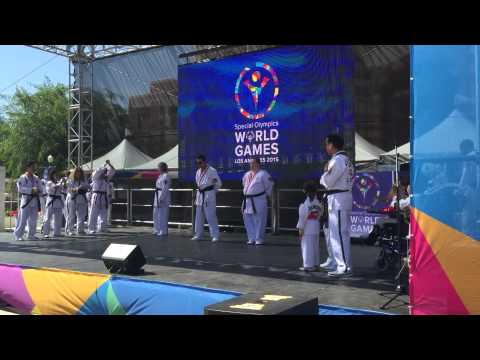 2015 ATA Unified Demo Team Special Olympics World Games Los Angeles, CA