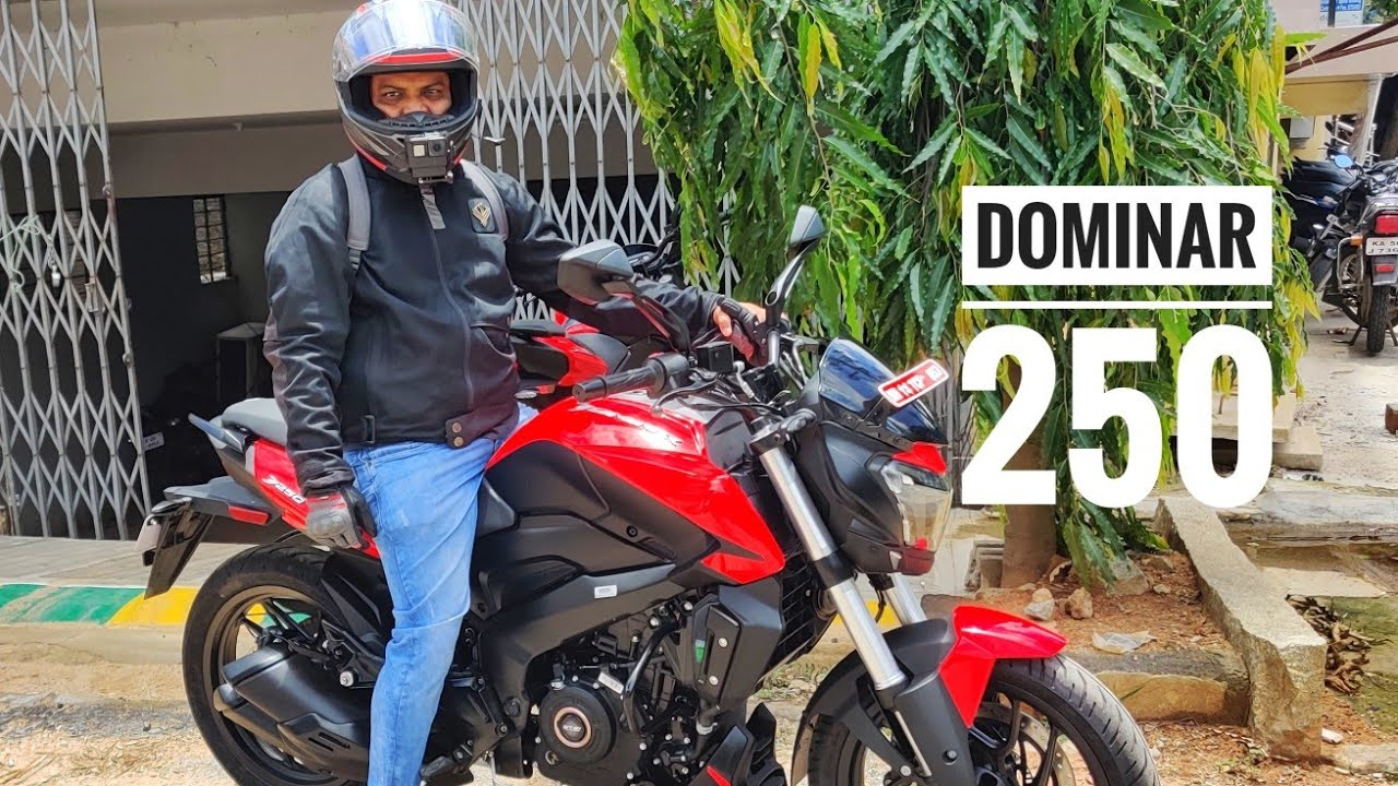 Bajaj Dominar 250 First RIDE REVIEW - Price | Power | Exhaust Note