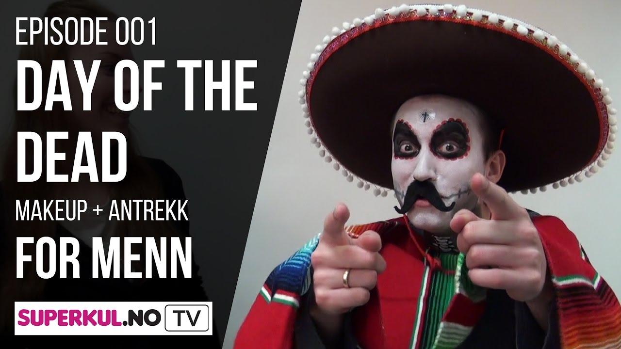 Day Of The Dead Makeup Og Kostyme For Menn Superkulno Tv 001