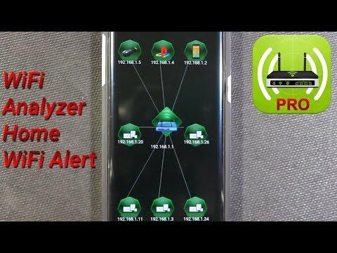 WiFi Analyzer Home WiFi Alert