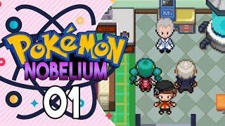 Pokemon Nobelium Part 1 - Completed Game! Pokemon Fan game Gameplay Walkthrough