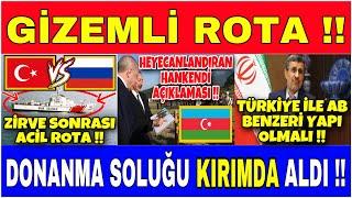 ZİRVE SONRASI TÜRK DONANMASI GİZEMLİ BİR ŞEKİLDE RUS KIYILARINDA !!