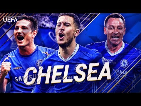Chelsea FC | GREATEST European Goals & Highlights | Hazard, Lampard, Terry | BackTrack