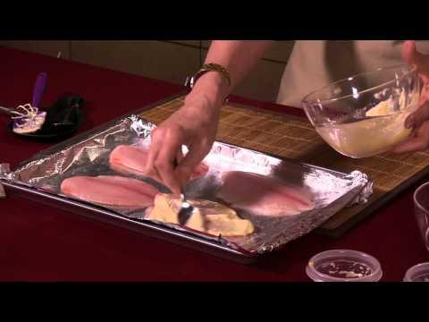 Mustard-Crusted Fish