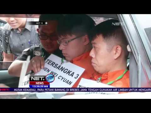 Rekonstruksi Penyelundupan Sabu Di Bandara Soekarno Hatta -NET12