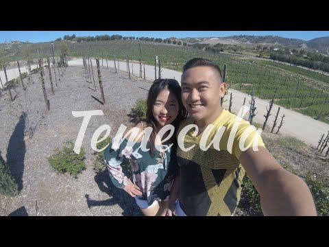 Wine tasting at Temecula, CA
