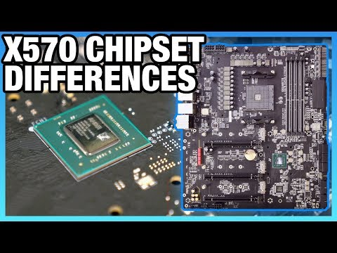 AMD X570 vs  X470, X370 Chipset Differences, Lanes, Specs