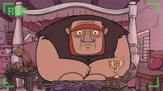 Clash Of Clans: Animação - Vida de um gigante