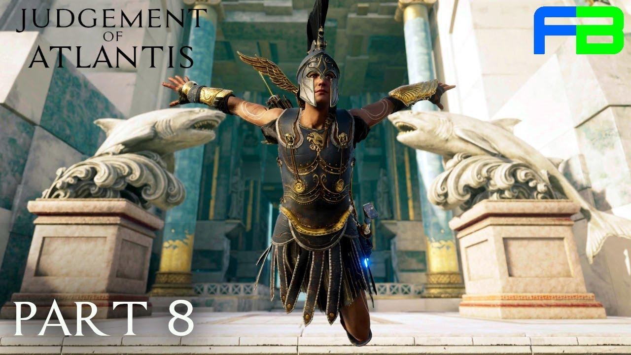 Full Armor Judgement Of Atlantis Part 8 Assassin S Creed
