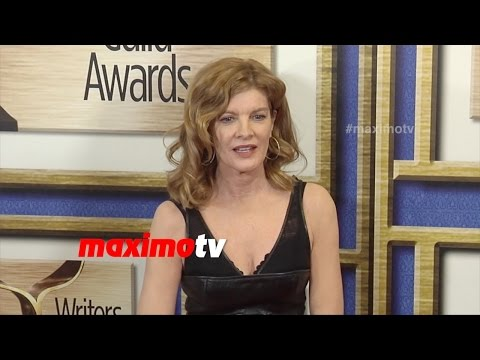 Rene Russo 2015 Writers Guild Awards L A  Red Carpet Arrivals