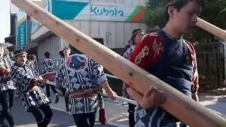 江戸優り 佐原の大祭 秋祭り 南横宿(仁徳天皇)の山車.