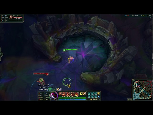 LoL - [PRE8] Tristana (new runes) 3.9% Attack speed!