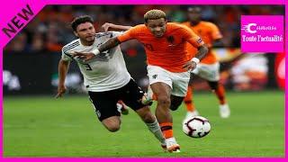 Ligue des nations : les Pays-Bas écrasent l'Allemagne 3-0