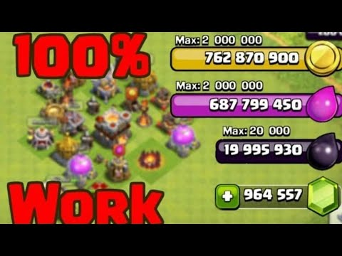 Clash Of Clans 2019 Hack - FREE Gems, Gold & Elixir - Clash Of Clans Cheats (NO SURVEY)