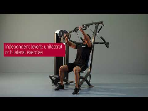 1FE037 - Inclined Chest Press