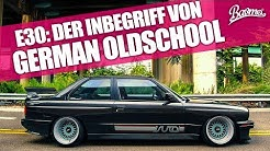 Der Inbegriff von German Oldschool   BMW E30 Gebrauchtwagen-Tipp