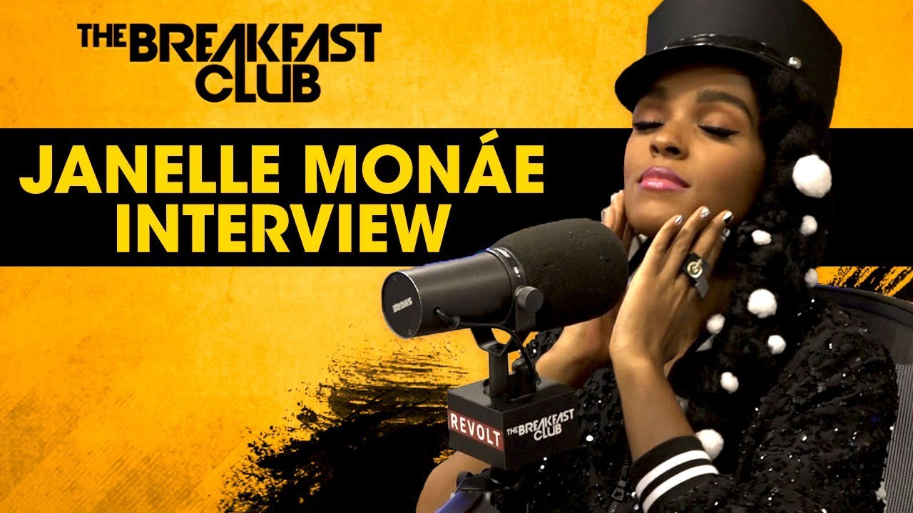 Image result for janelle monae breakfast club