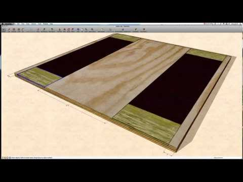oly platform construction - how to - watch in HD!