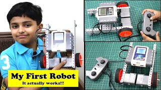 I made my First Remote Controlled Robot with Avishkaar Robotics Kit | How to make a working Robot?