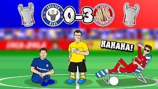 Lewandowski & gnabry destroy chelsea! ✋please note: these shitty cartoons are not made for kids. they contain profanity, cartoon violence and non-child theme...