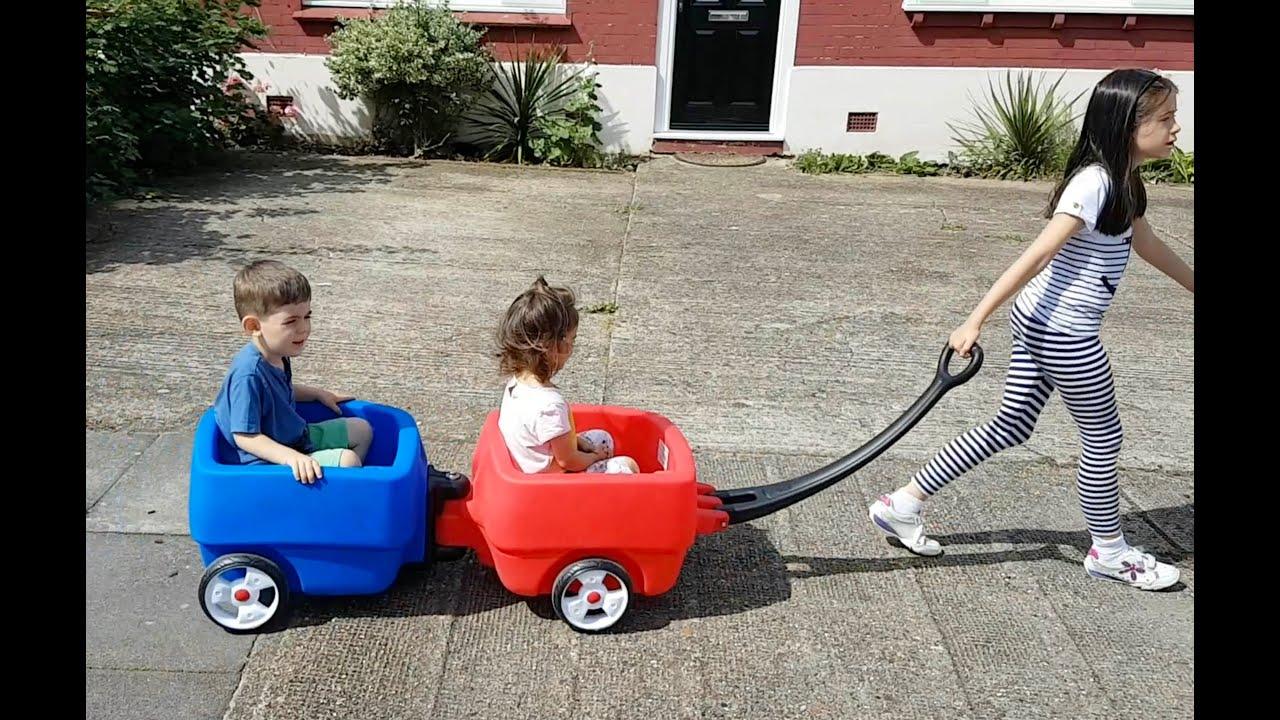 Kids Having Fun Ride Toys for Kids Train