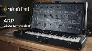 Korg ARP 2600 Synthesizer Demo with Mikael Jorgensen - All Playing, No Talking