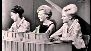 "Singer Marni Nixon on ""To Tell the Truth"" (December 7, 1964)"