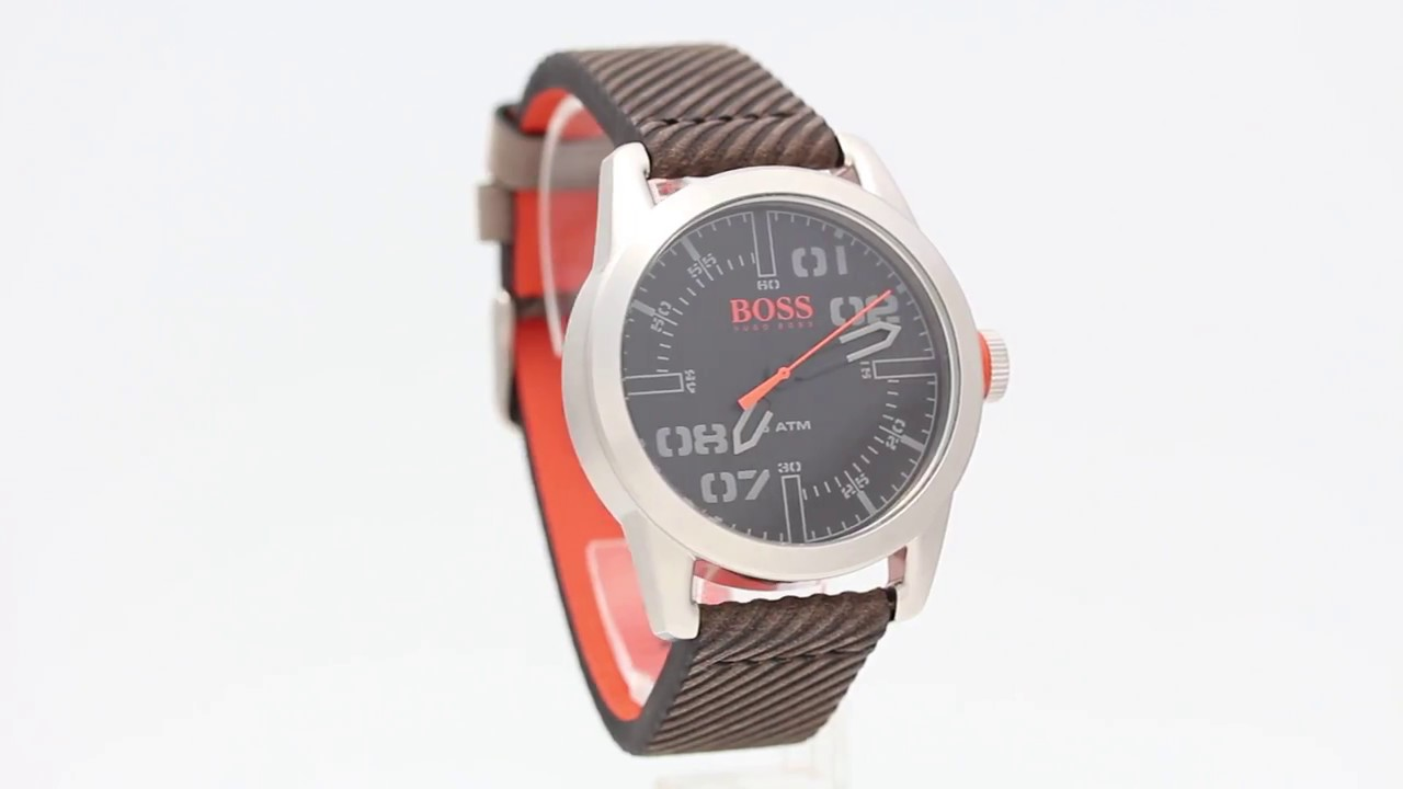 c6be862f3fc Hugo Boss Orange Oslo 1513417 - Watchia.com - YouTube