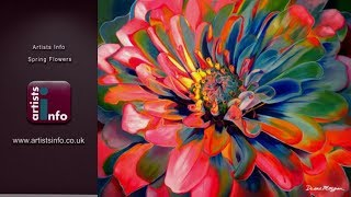 Artists Info Spring Flowers Exhibition - updated