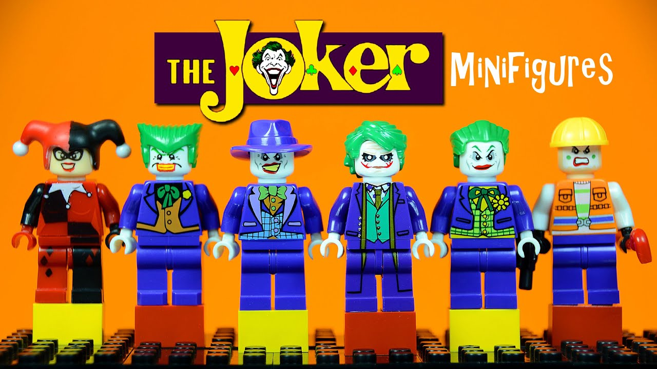 Lego The Joker Knockoff Minifigure Collection Bootleg