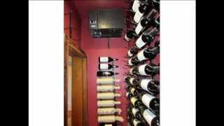 Small Contemporary Residential Custom Wine Cellars Dallas Texas -- Griffith