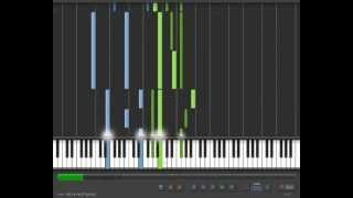 Narnia The Battle Synthesia + Music Sheet