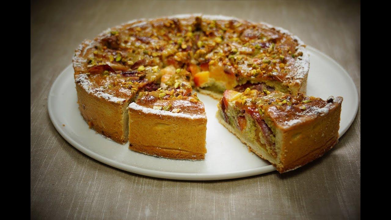 recette de la tarte p 234 ches pistaches amandes 100 maison