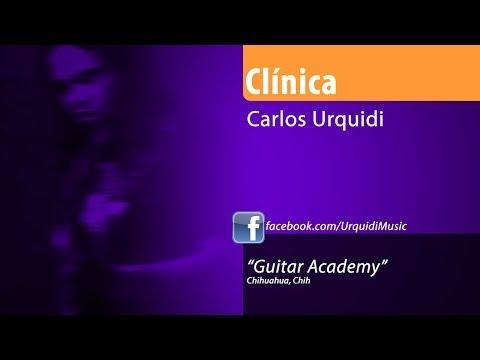 Carlos Urquidi Guitarra Instrumental en Guitar Academy Chihuahua