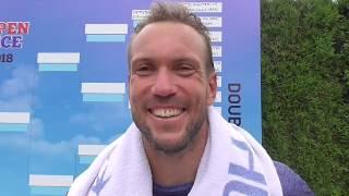 Jan Mertl po vítězství v 1. kole Rieter Open Pardubice 2018