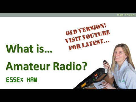 Amateur Radio Two Minute Taster (2016 UK)