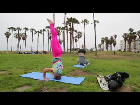 Yoga for Skateboarders: Headstand Basics with Bridget