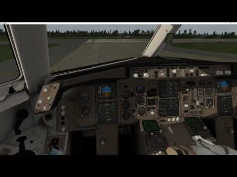 VMax FlightFactor and StepToSky B767-300ER KATL-KMEM No Commentary