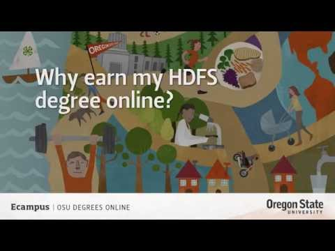 Why earn my HDFS degree online? | Oregon State Ecampus