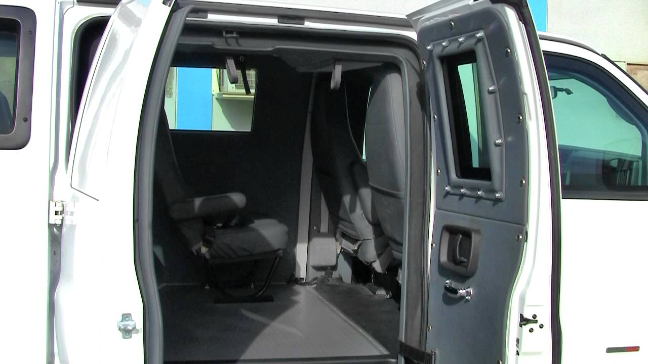 Chevy Express Van >> Armored GMC Savana 3500 Diesel Passenger Van - YouTube