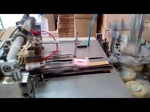 Paper cup manufacturing unit