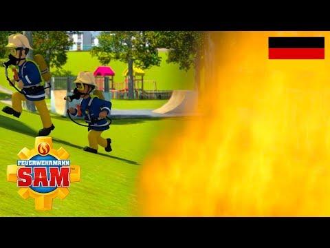 Feuerwehrmann Sam Deutsch | Neue Folgen | Die Feuerwand - 1 Stunde | Cartoon für Kinder