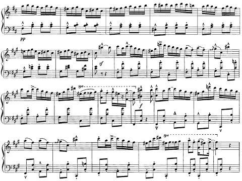 [Fazil Say, 2x{SCORE+LIVE}] Jazz Fantasy On Mozart (Türkischer Marsch) in 86 sec, Live Encore