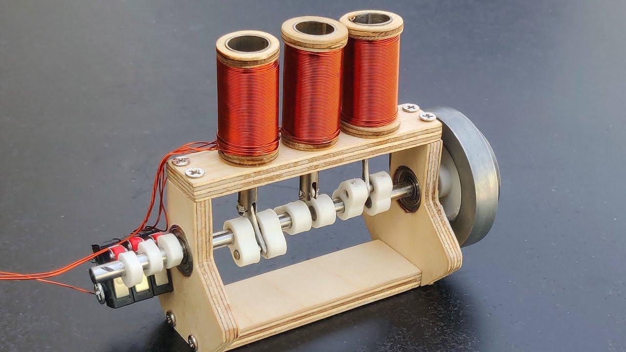 Making Triple Cylinder engine